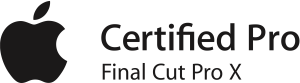 FCPX Apple Certified Pro