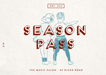 The Music Salon Season Pass (November)