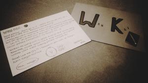 Letter Claire