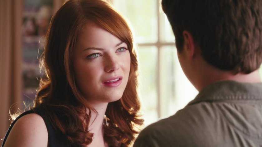Emma Stone Irritated