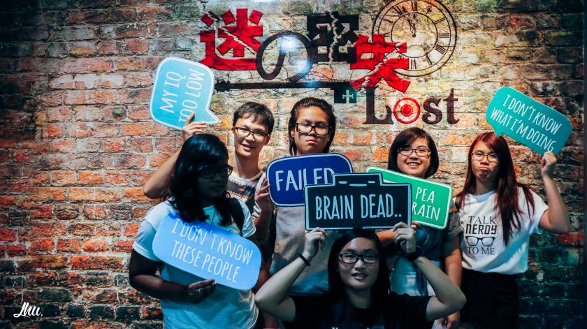 Lost.sg Escape Room Photo Taking