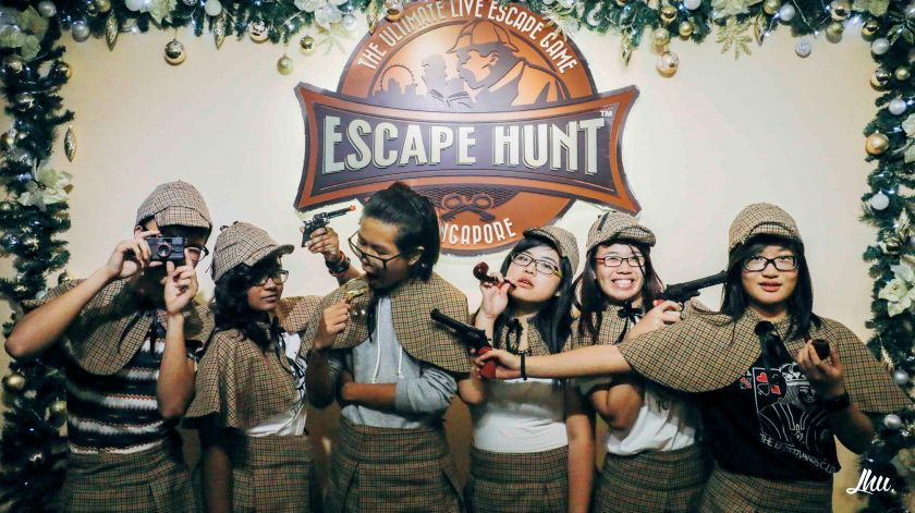 Escape Hunt Singapore Photo Taking