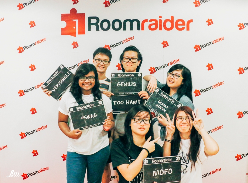 Roomraider Escape Room Photo Taking