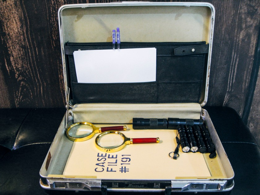 Unravel Singapore Escape Room Briefcase